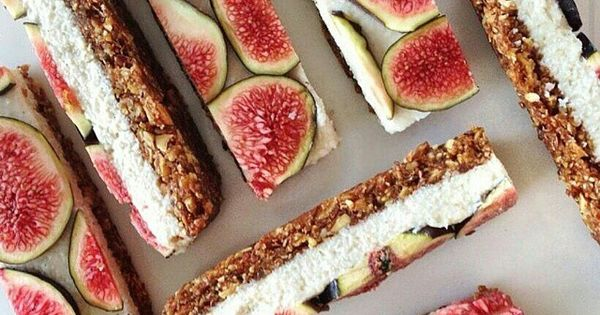 Cashew cream, Figs and Fresh figs on Pinterest