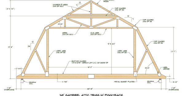Click Here For Pdf File Of Truss Design Attic