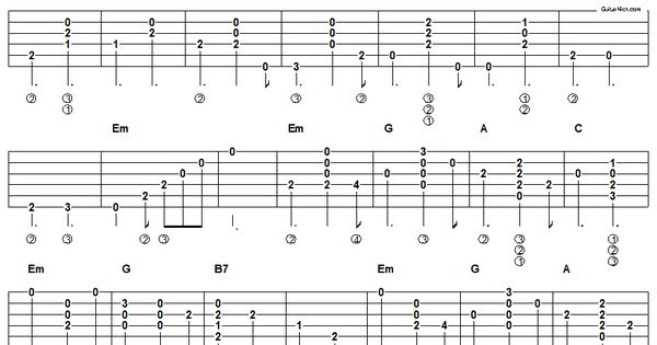 house of the rising sun acoustic guitar chords tab many more on this site music. Black Bedroom Furniture Sets. Home Design Ideas
