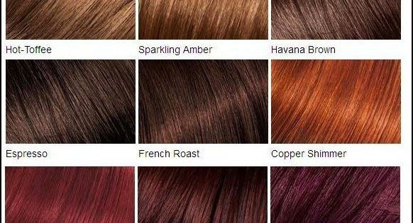 loreal color chartdifferent blondebrownreddark hair