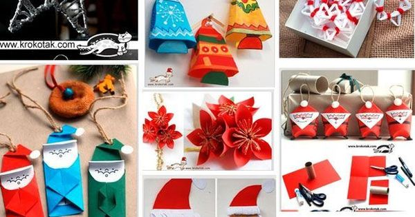 christmas crafts for kids to do  Christmas Crafts, Education, Recipes  Pinterest ...