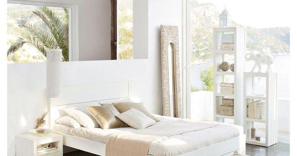 Miroir trumeau en r sine hoa maisons du monde mdm for Miroir exotique