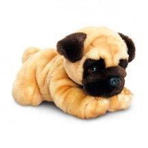Dantdm Laydown Plush Pug Large Plush Dog Soft Toy Dog Pug Dog