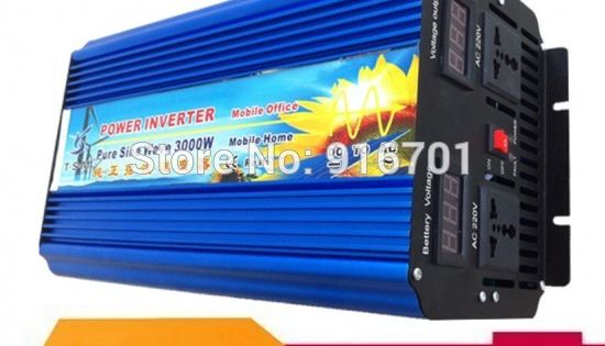 Zuivere Sinus Omvormer 12v 24v 3kw 3000w Pure Sine Wave Inverter For Solar Systems Home Use Etc 110v 220v Solar Power House Solar Power Inverter Solar Inverter