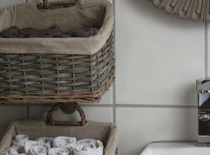 hanging baskets for storage das kleine weisse haus gest ndnisse einblicke und wohnideen aus. Black Bedroom Furniture Sets. Home Design Ideas