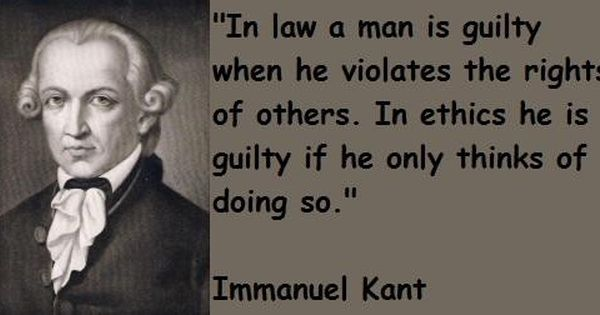 Immanuel Kant Ethics Quotes Popular Quotes Powerful Words