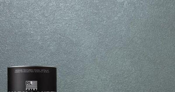 Ralph lauren 1 qt blue zircon metallic specialty finish - Metallic blue interior wall paint ...