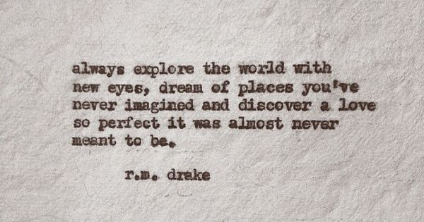 R M Drake Quote: R. M. Drake @Robert M. DRake Instagram Photos