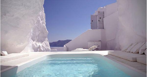 Katikies Hotel @ Santorini Greece. Santorini is one of my favorite places
