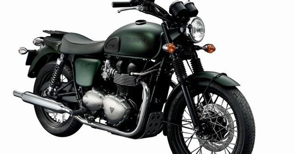 """2012 Triumph Bonneville T100 Steve McQueen Edition"" I might actually buy this"