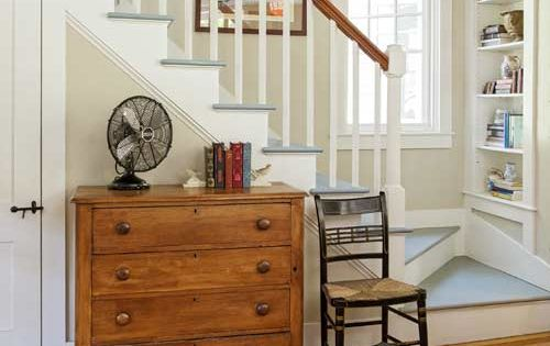 From fixer upper to refined farmhouse farmhouse living - Ideas for dead space in living room ...