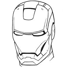 Top 20 Free Printable Iron Man Coloring Pages Online Iron Man Drawing Iron Man Drawing Easy Avengers Coloring