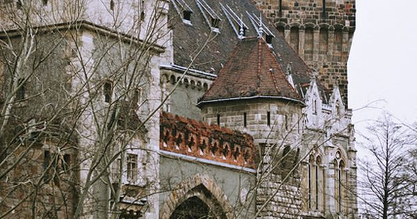 Vajdahunyad Castle. Budapest, Hungary. Budapest is where east meets west and it's