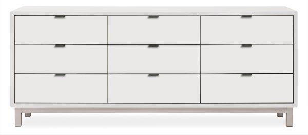 Copenhagen Wood Dressers Modern Dressers Modern Bedroom