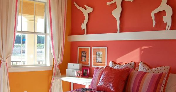 Gymnastics Girls Bedroom