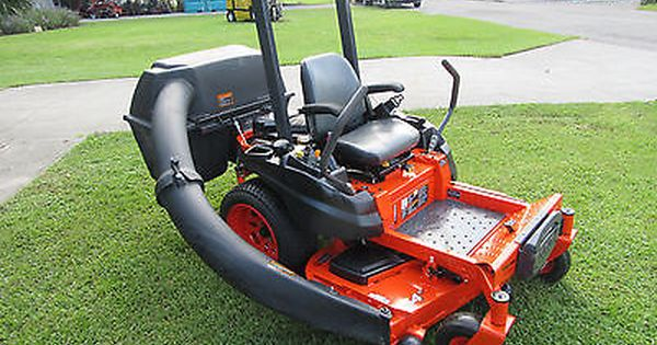 Kubota Z125s Zero Turn 25 Hp Kohler Gas 54 Quot Rotary Mower Collection System Rotary Mower Mower Kubota
