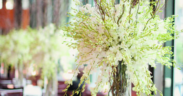 Rustic Branches Wedding Centerpieces | Creative Ideas for Centerpieces | Arabia Weddings