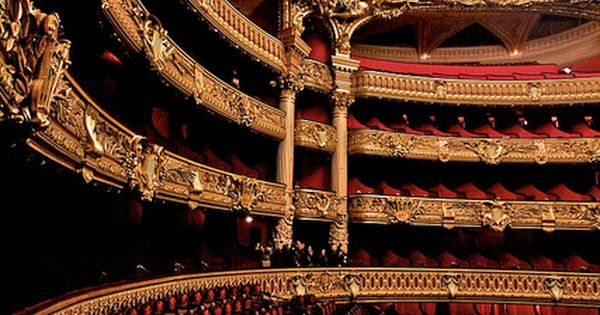Le Palais Garnier in Paris (Paris Opera House)
