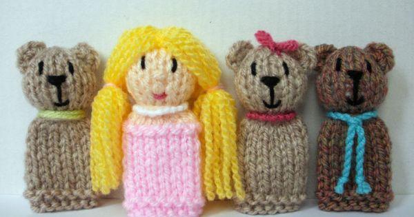 Easy Finger Puppet Knitting Pattern : Finger puppets and fingers on pinterest
