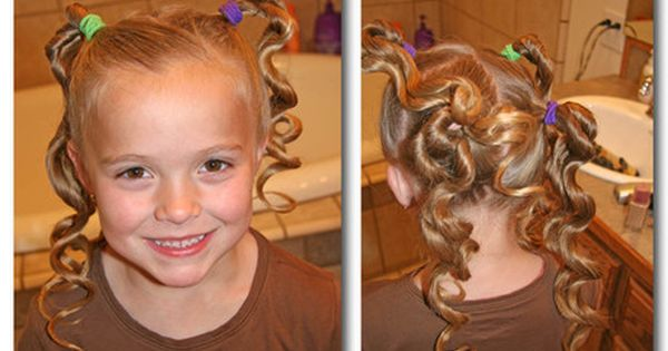 How to style for young girl hair girl young style curls twist
