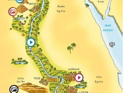 Cartina Egitto In Italiano.Ricostruzione Di Un Angolo Dell Antico Egitto Egitto Antico Egitto Egiziano