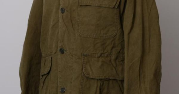 Vintage 1950s Carhartt Super Dux Canvas Hunting Jacket