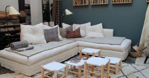 Caravane lance son e shop salon living room for Canape orientale