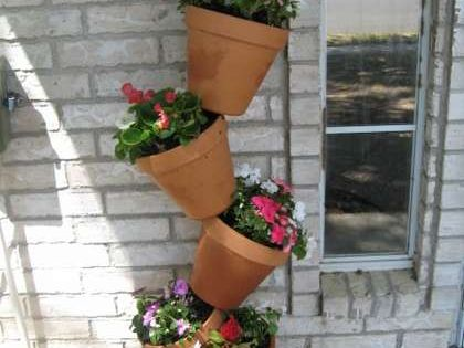 Tip-Top Flower Pots: Maximize limited space to grow plants and flowers, really
