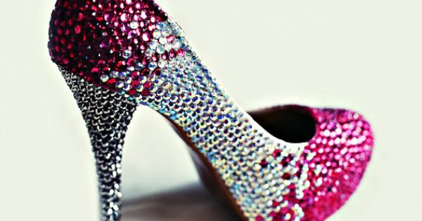 Crystal stilettos
