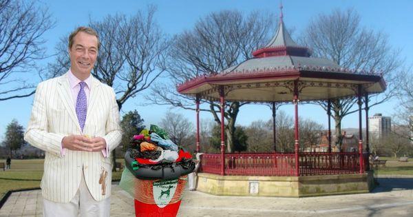 Dog Shit Bin In Rochdale Park To Be Named After Nigel Farage In New Year S Honours List Rochdale Nigel Farage Dogs Waste