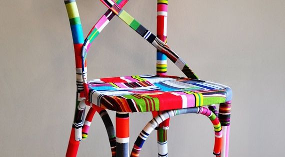 Washi Tape Chair