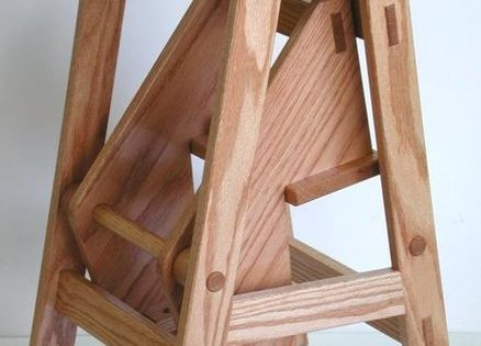 Amish Folding Step Stool Diy Pinterest Stools