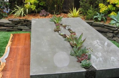 basteln mit beton gartenm bel aus beton garden pinterest concrete gardens and cement. Black Bedroom Furniture Sets. Home Design Ideas