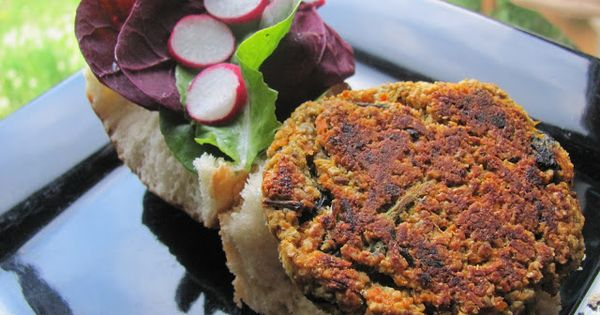 wild nettle & lentil veggie burgers (gf & vegan) | Recipes to Try ...