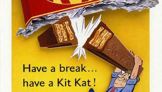 Vintage chocolate ad for Kit Kat | Down Memory Lane ...