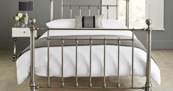 Buy Leamington Single Bed Metal Pewter From The Next Uk Online