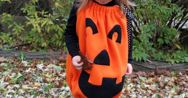 DIY Pumkin Costume! Halloween Kids Costume
