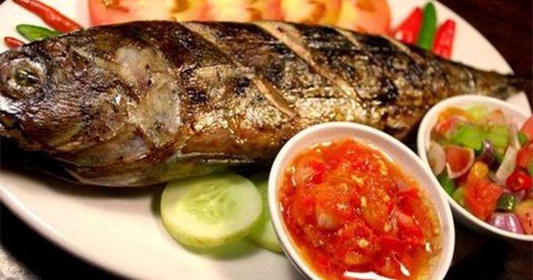 Ikan Bakar Sambal Dabu Dabu Ikan Bakar Resep Ikan Bakar Resep Ikan