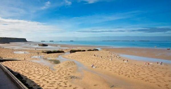 d day normandy beach art
