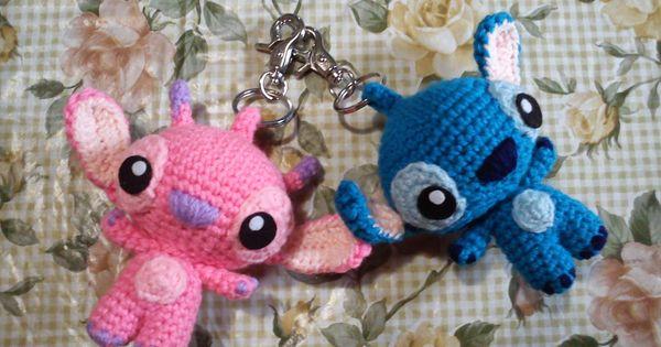 Stitch et angel porte cl amigurumi patron en fran ais for Porte traduction