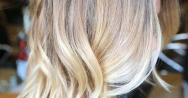 Blonde Ombre (hair color idea)- not so much the ombre, but the