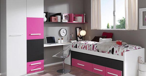Decoraci n de la habitaci n juvenil para chicas blog de - Decoracion para habitacion juvenil ...