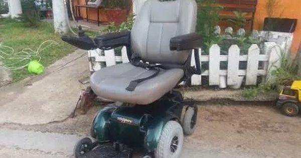 Silla de ruedas electrica reestaurada asiento de elevacion for Silla de ruedas electrica