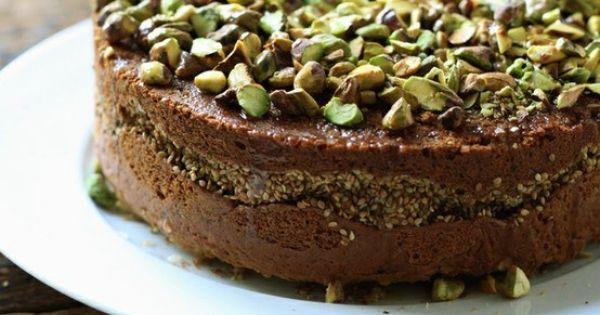 Orange blossom sesame cake | Cake recipes | Pinterest | Blossoms ...