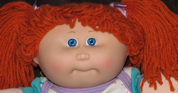 Cabbage Patch Doll Red Hair Brown Eyes