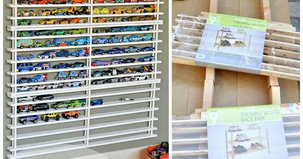 https www.hometourseries.com garage-storage-ideas-makeover-302 - Hot Wheels Car Storage Genius