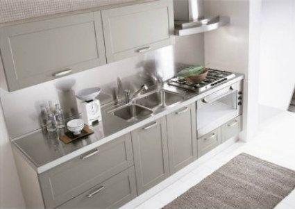 Cocinas En Acero Inoxidable Como Conservarlas Brillantes Decoracion De Interiores Y Exteriores Estiloydeco Encimeras De Cocina Cocinas De Aluminio Cocinas Acero Inoxidable