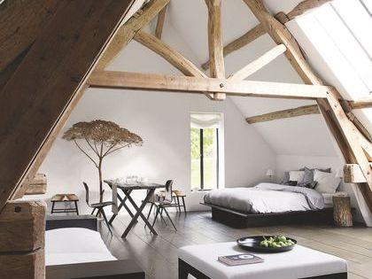 R novation maison ancienne la campagne en normandie for Aide a la renovation maison ancienne