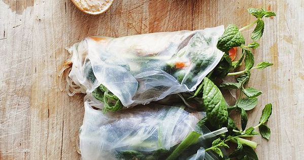 Vietnamese spring rolls, Rice paper and Summer on Pinterest