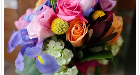 Rustic bouquet - photo
